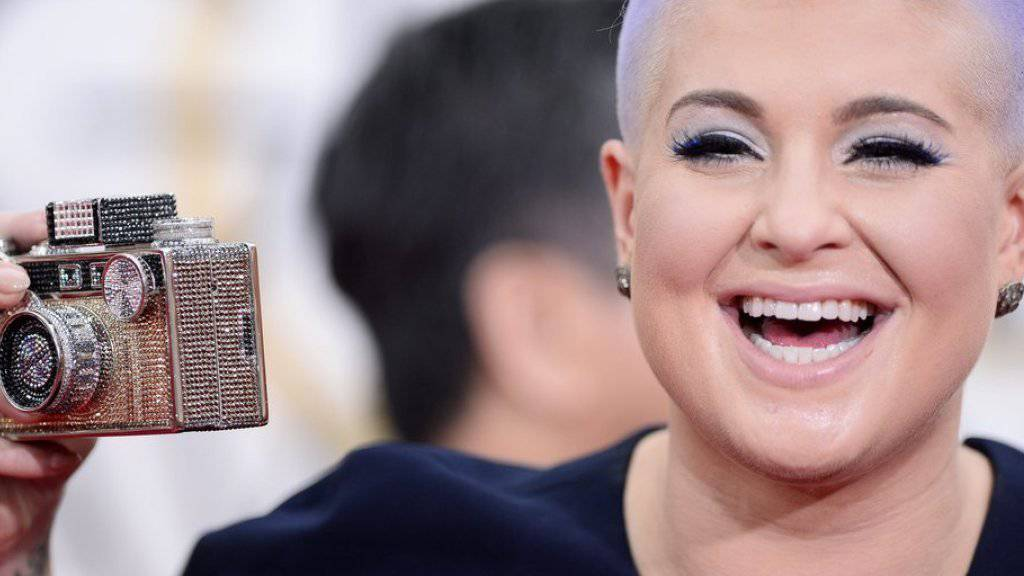Kelly Osbourne war 2015 auch an 72. Golden Globe Awards im kalifornischen Beverly Hills anwesend (Archiv)