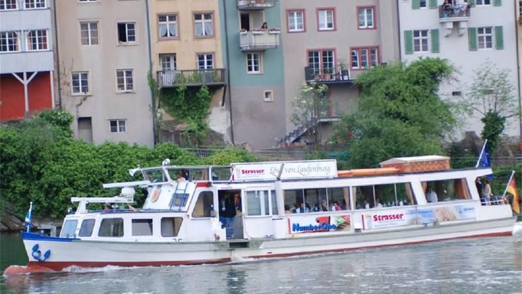 Der «Löwe von Laufenburg» bietet Platz für 60 Passagiere. ZVG