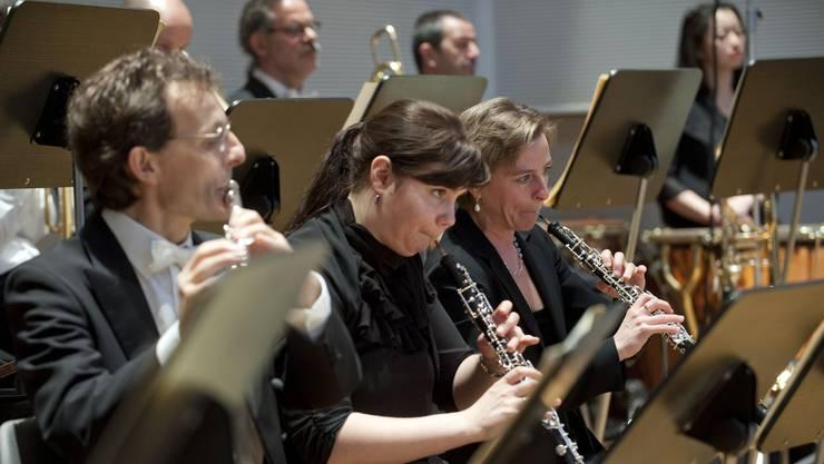 Die Subventionen für das Musikkollegium waren aufgrund der Sparrmassnahmen um 3 Prozent gekürzt worden. Bild: Musiker des Musikkollegiums Winterthur.