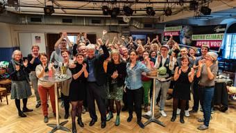 Die Grünen feiern ihren Nationalratssitz