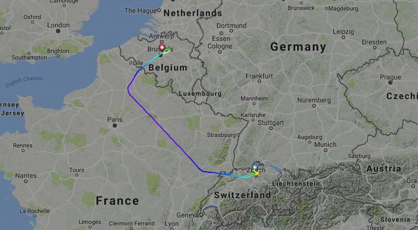 Screenshot flightradar24.com