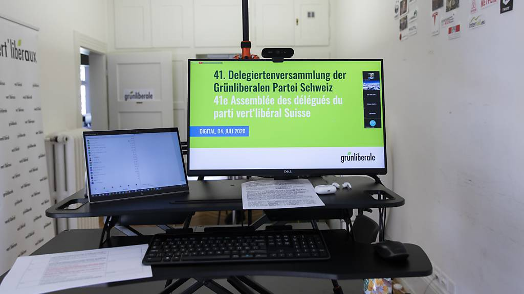 Die Grünliberalen Graubünden haben bei der Abstimmung zum E-ID-Gesetz die Stimmfreigabe an einer virtuellen Mitgliederversammlung beschlossen. (Symbolbild)