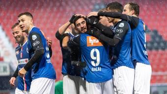 Challenge league, 12. Runde: Neuchatel Xamax - FC Aarau