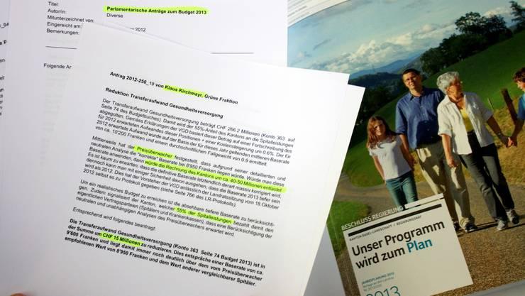 Der Budget-Kürzungsantrag der Grünen ist mit 15 Millionen Franken der grösste Brocken.