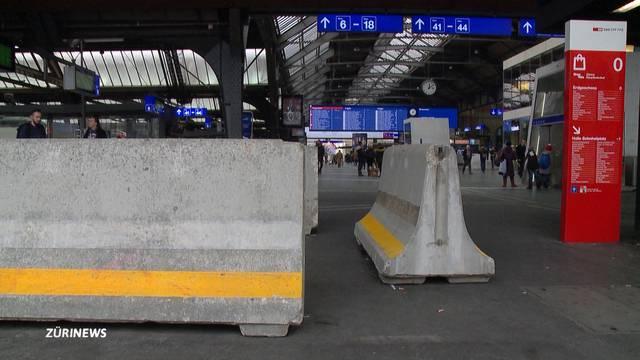 Terrorabwehr im Zürcher Hauptbahnhof