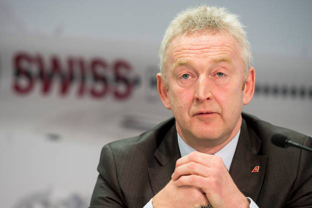 Thomas Klühr trat seine Stelle als Swiss-CEO 2016 an. Ende Jahr tritt er ab.