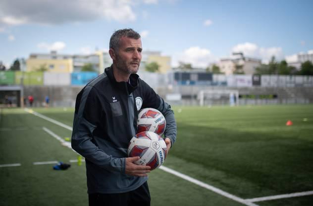 Anfang Woche als Cheftrainer in Wil vorgestellt, heute die Premiere gegen Kellers Aarau: Alex Frei