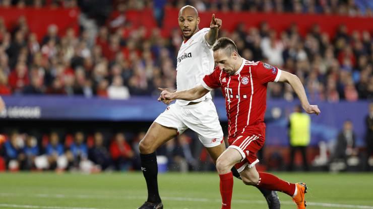 Impressionen aus dem Spiel FC Sevilla - FC Bayern