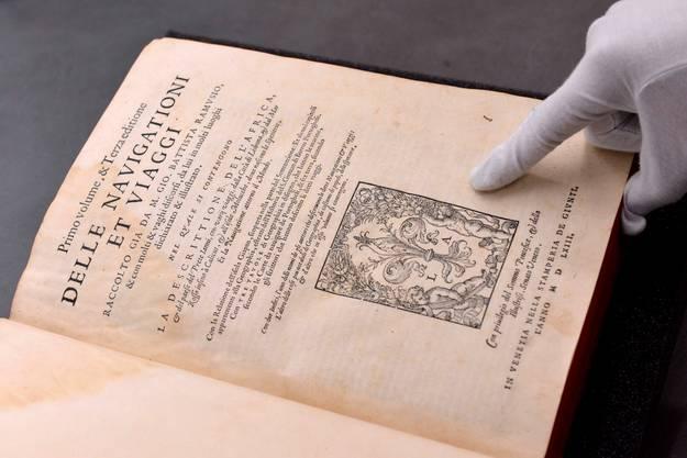 Der Herausgeber Giovanni Battista Ramusio hat die Reiseberichte von Leo Africanus gesammelt und herausgegeben.
