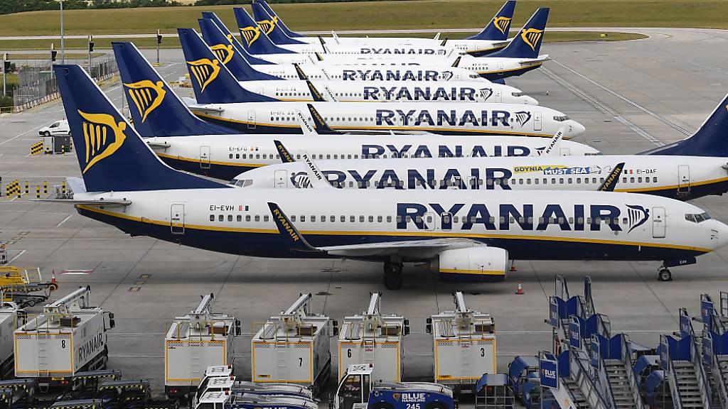 Ryanair hofft auf bis zu 70 % des normalen Sommer-Verkehrs