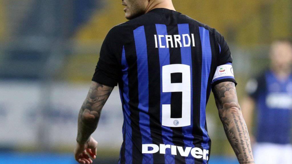 Mauro Icardi ist nicht mehr Captain von Inter