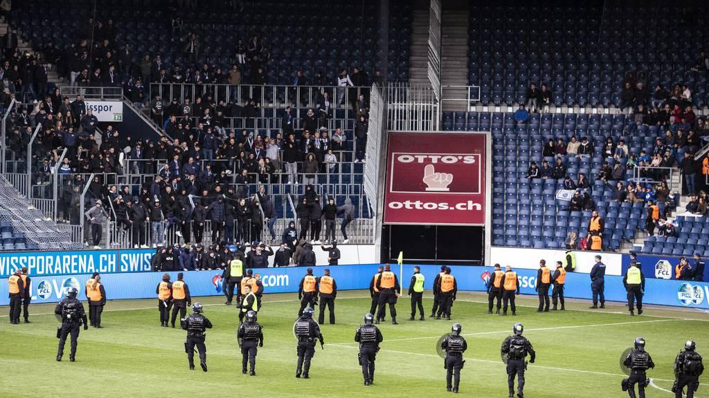 SFL spricht erste Stadionverbote aus