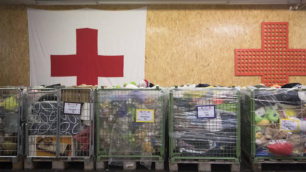 Plüschtiere und ähnliches wurden im Rahmen der Aktion «2x Weihnachten» für bedürftige Menschen gespendet. (Archivbild)