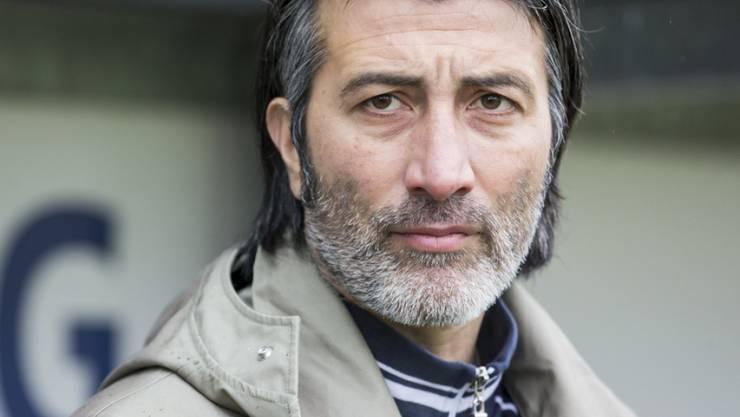 Murat Yakin verfügt über ein gesundes Selbstbewusstsein: Der Trainer des FC Schaffhausen, zweifelt keine Sekunden an seinen Fähigkeiten. (Archivbild)