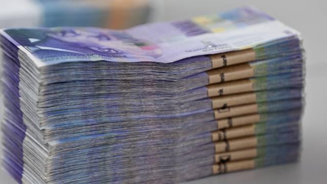 Ein Bund Tausendernoten