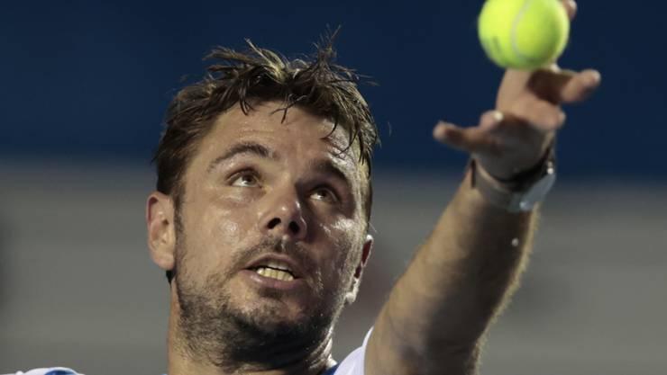 In St. Petersburg im Viertelfinal: Stan Wawrinka