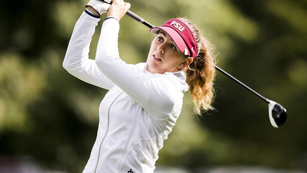 Kim Métraux Dritte am Schweizer Europa-Tour-Turnier