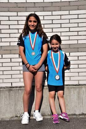 Die Medallien-Gewinnerinnen links Jana Srayta und rechts Selma Ter
