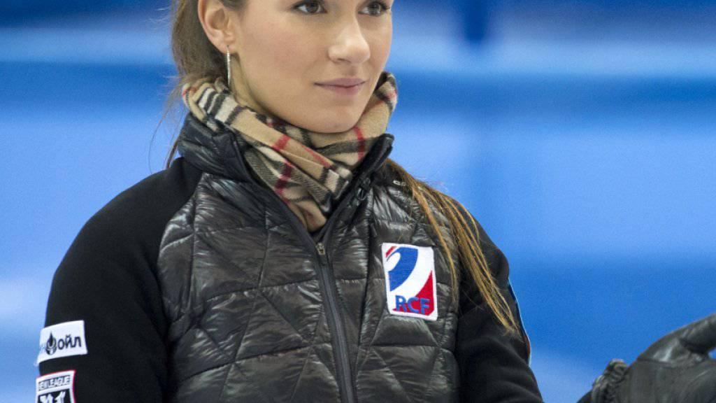 Anna Sidorowa, das Synonym für Russlands Frauencurling
