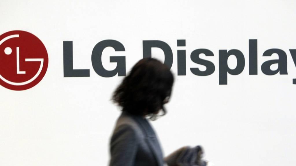 Der Apple-Zulieferer LG Display hat von den guten Verkäufen beim iPhone profitiert. (Archivbild)