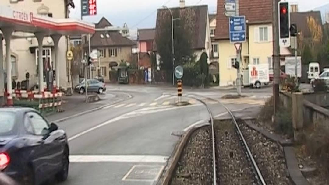 Als das WSB-Tram noch auf der Strasse fuhr – ein Fan war auf einer der letzten Fahrten im Führerstand dabei