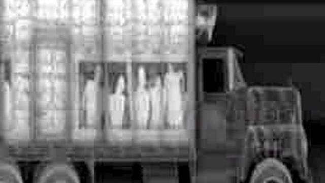 Entdeckung von Flüchtlingen in Lastwagen mit Röntgen (Symbolbild)