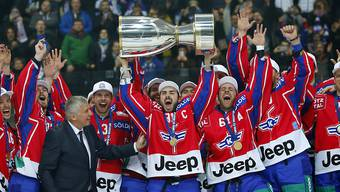 Der EHC Kloten triumphierte im Schweizer Cup 2017 - und trifft heute als NLB-Verein auf die Rapperswil-Jona Lakers, den Cupsieger von 2018