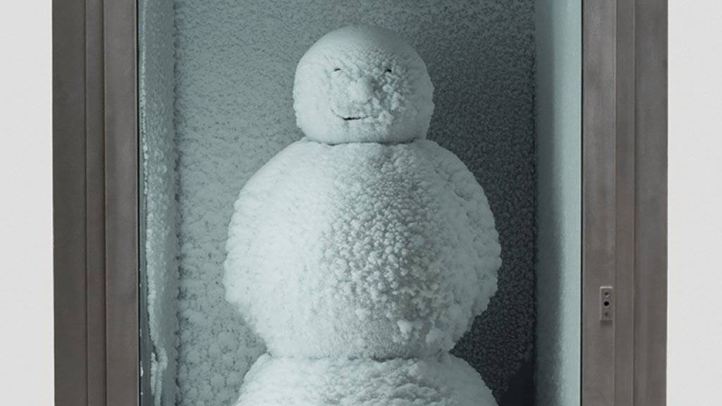 Nach vielen Stationen in aller Welt gastiert der «Snowman» des Künstlerduos Fischli/Weiss zur Zeit vor dem New Yorker MoMA. (zVg)