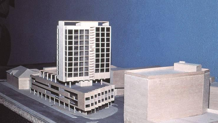 Vor 40 Jahren war der Schlusspurt bei der Fertigstellung des Grenchner Coop City Hochhauses im Gang. Wir zeigen die Bilder vom damaligen Bau