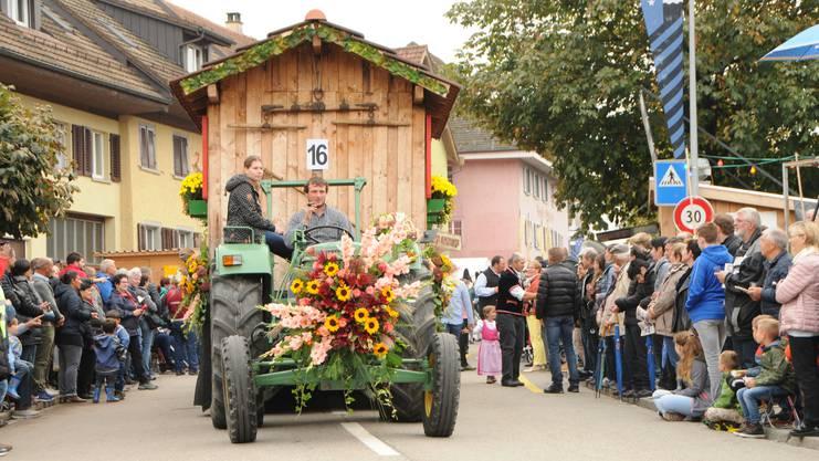 Impressionen vom Winzerumzug vom Döttinger Winzerfest, 6. Oktober 2019.