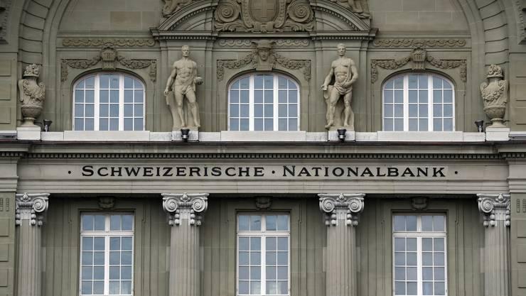 Das Gebäude der Schweizer Nationalbank in Bern.