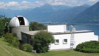An den sonnenverwöhnten Hängen oberhalb von Locarno befinden sich gleich zwei Sonnenforschungsstellen.