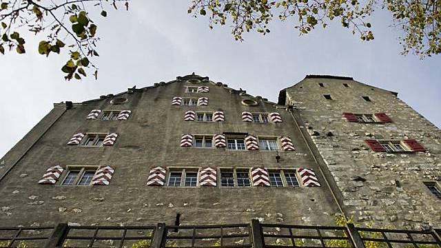 Das Schloss Wildegg (Archiv)