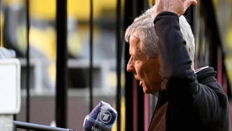 "Lucien Favre weist Rücktrittsgedanken zurück: ""Das ist totaler Quatsch!"""