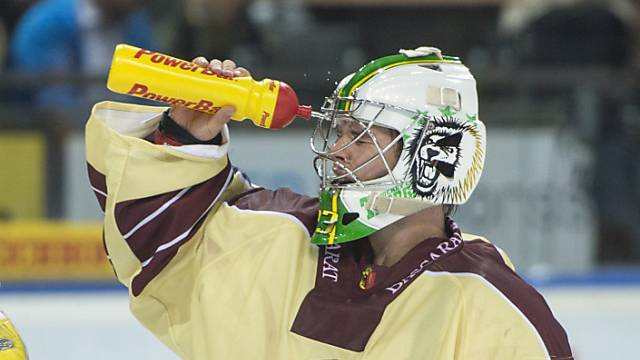 Sieg für Thurgau mit Goalie Caminada (hier noch im Servette-Dress)