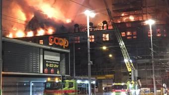 Schlagzeilen machte PSP Swiss Property zuletzt vor allem mit dem Brand einer Liegenschaft beim Zürcher Hauptbahnhof. (Archivbild)