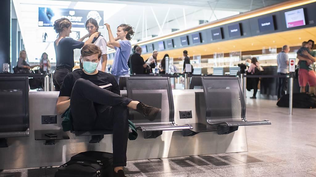 Passagierzahlen am Flughafen Zürich bleiben im Juli tief