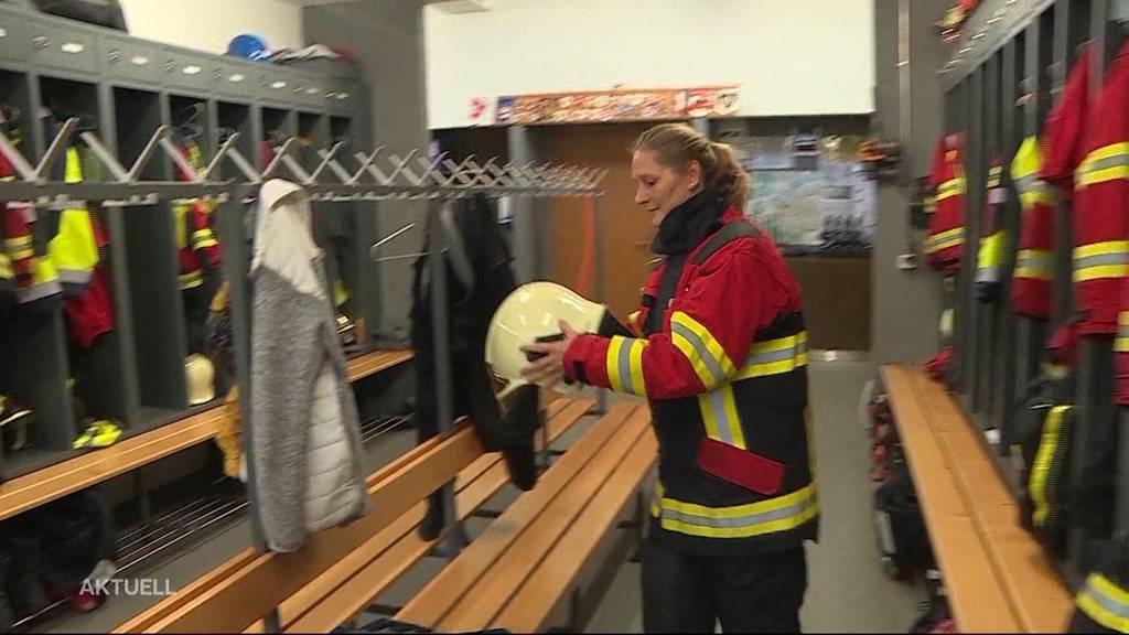 Älteste Feuerwehrschülerin ist top motiviert