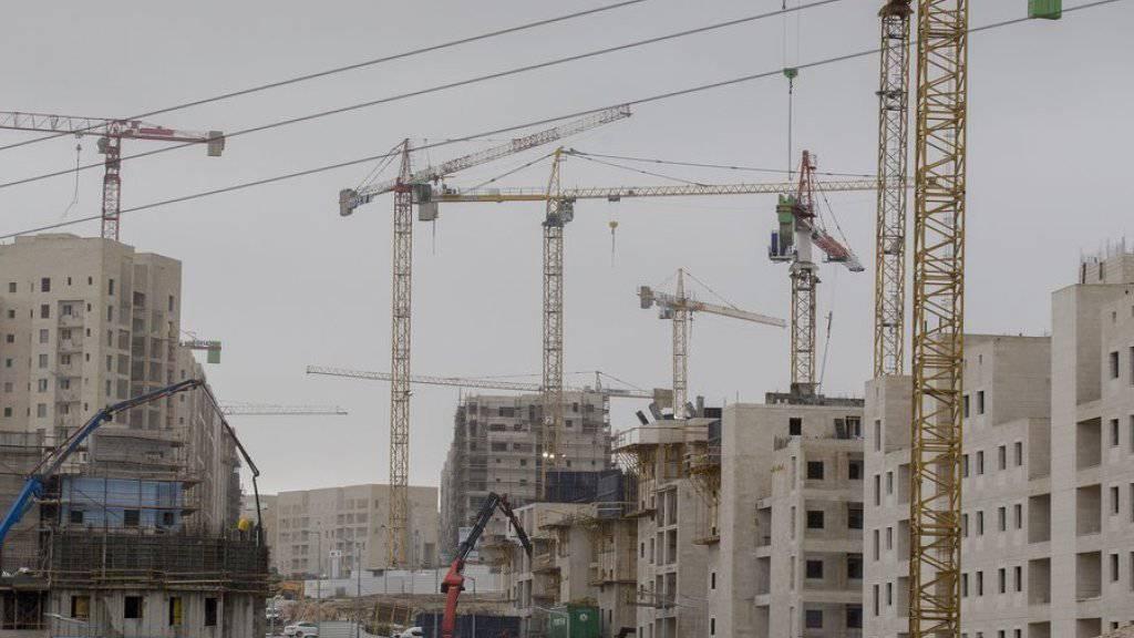 Israel genehmigt Bau hunderter Siedlerwohnungen in Ost-Jerusalem