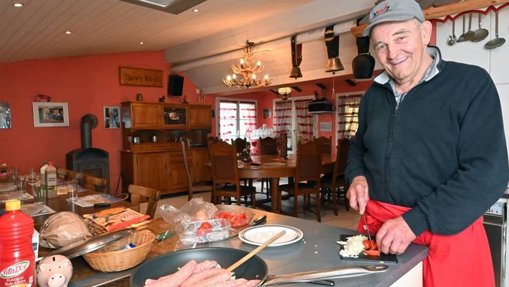 Seit 20 Jahren führt Theo Niklaus in Trimbach seine Bäsebeiz.