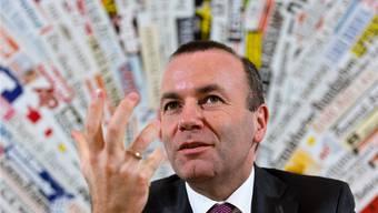CSU-Vize Manfred Weber: Folgt er auf Jean-Claude Juncker an der Spitze der EU-Kommission? Domenico Stinellis/AP/Keystone