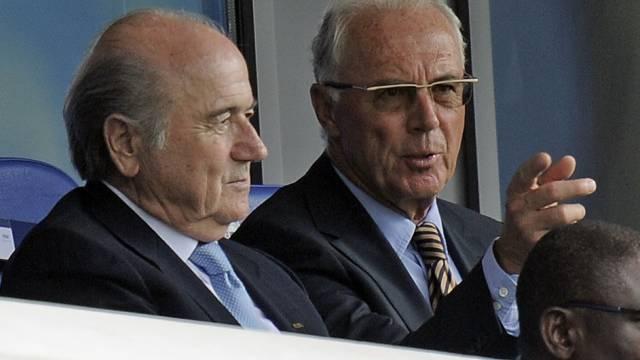Nicht immer Freunde: Joseph Blatter, Franz Beckenbauer