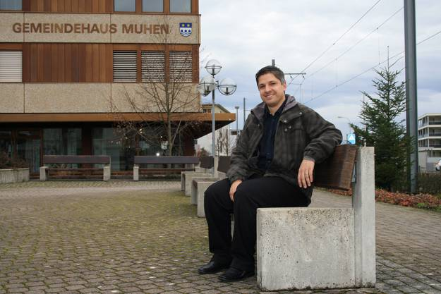 Viertjüngster Ammann: Andras Urech (37, SVP) aus Muhen.