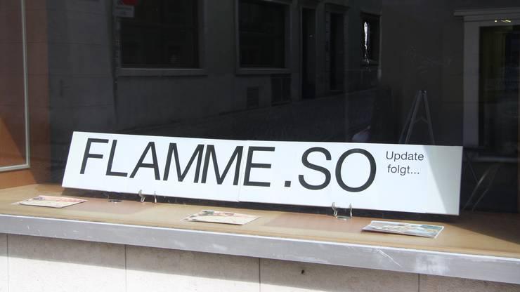 """Statt Schminke gibts im ehemaligen Fasnachtsladen bald unter dem Label """"Flamme"""" Flammkuchen."""