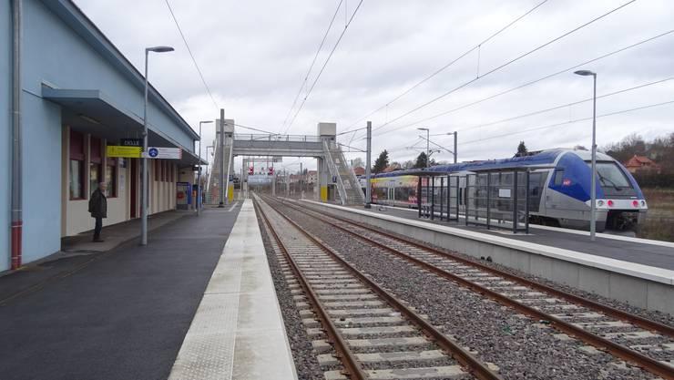Der Bahnhof Delle wurde modernisiert