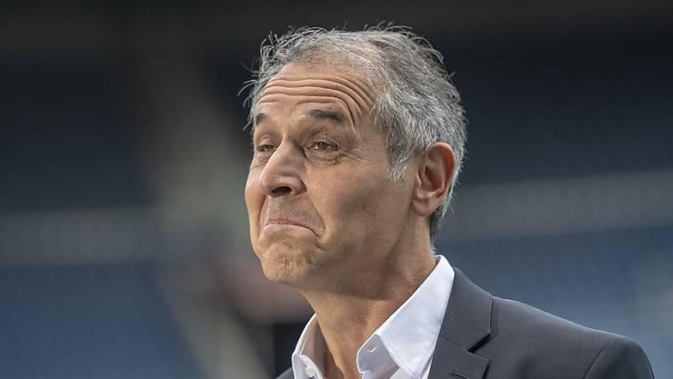 Deer Basler Trainer Marcel Koller konnte mit dem Gezeigten in Luzern nicht zufrieden sein, die Hoffnung hat er aber noch nicht aufgegeben