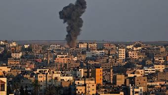 Rauch über dem Gazastreifen nach der gescheiterten Feuerpause