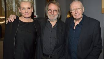 Benny Andersson von ABBA (Mitte) mit Eva Dahlgren und Ulf Dageby