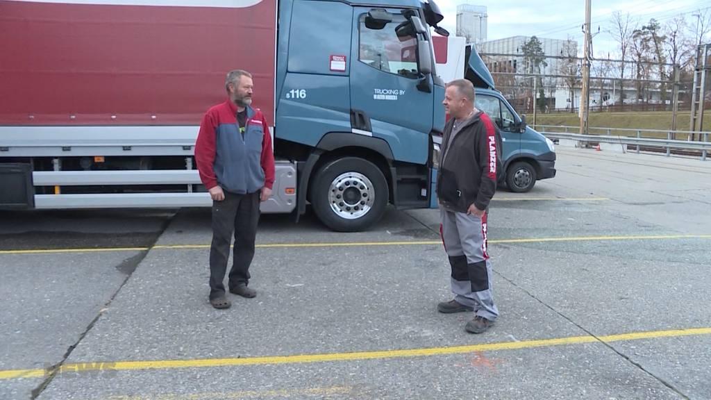 Neue Corona-Massnahmen erschweren LKW-Fahrern den Alltag