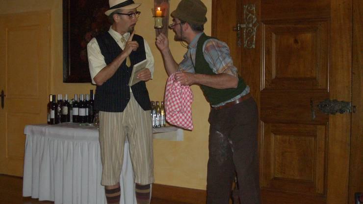 Walliser Komiker Duo Dünitü